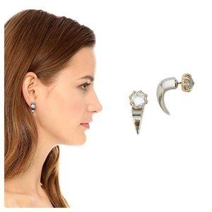 Rebecca Minkoff Claw Earrings NWOT